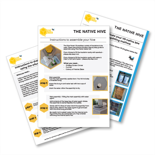 The-Native-Hive-instruction-sheets